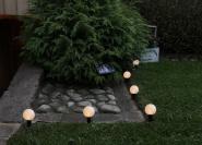 Päikesepaneeliga aiavalguskett 2in1