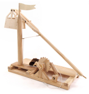 Pathfinders puidust ehituskomplekt Leonardo Da Vinci Trebuchet