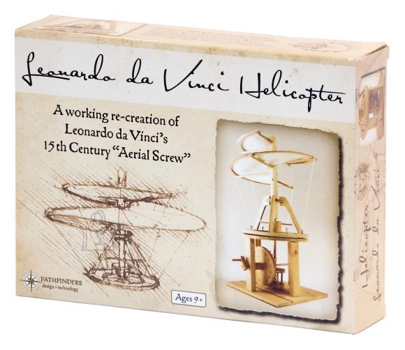 Pathfinders puidust ehituskomplekt Leonardo da Vinci õhukruvi
