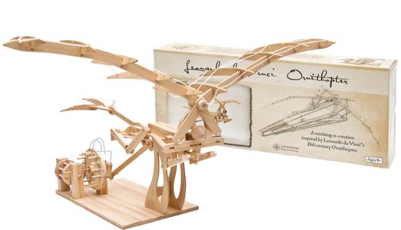Pathfinders puidust ehituskomplekt Leonardo da Vinci ornikopter