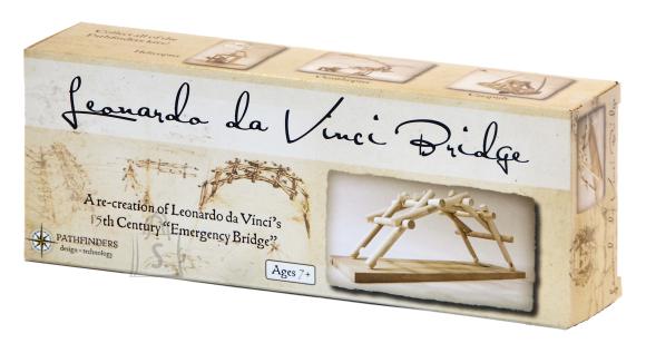 Pathfinders puidust ehituskomplekt Leonardo da Vinci Sild