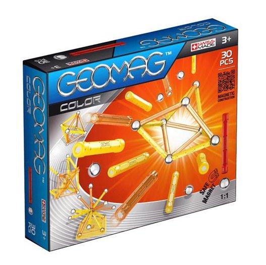 Geomag magnetkonstruktor Värvid 30 tk