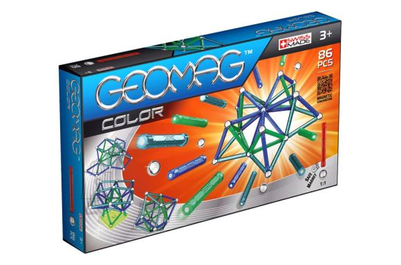 Geomag magnetkonstruktor Värvid 86 tk