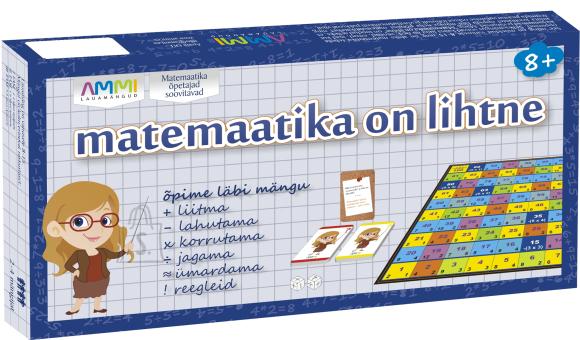 Lauamäng Matemaatika on lihtne