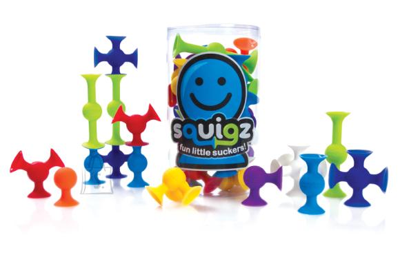 Fat Brain Toys iminappadega konstruktor Squigz 24 tk