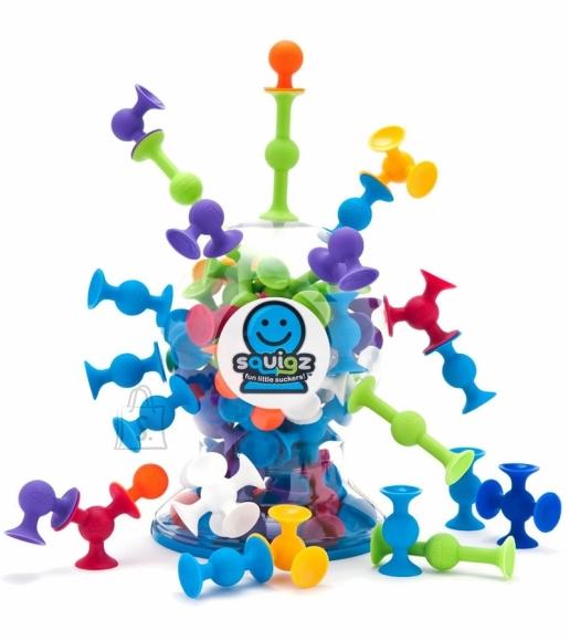 Fat Brain Toys iminappadega konstruktor Squigz 50 tk