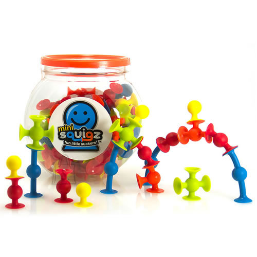 Fat Brain Toys iminappkonstruktor Mini Squigz 75 tk