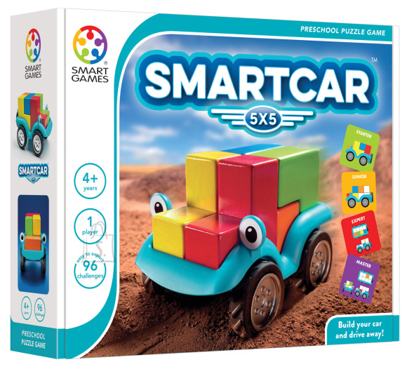 Smart Games Mäng Nutikas auto 5x5