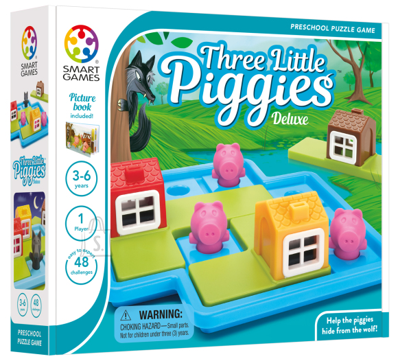 Smart Games Lauamäng Kolm põrsakest