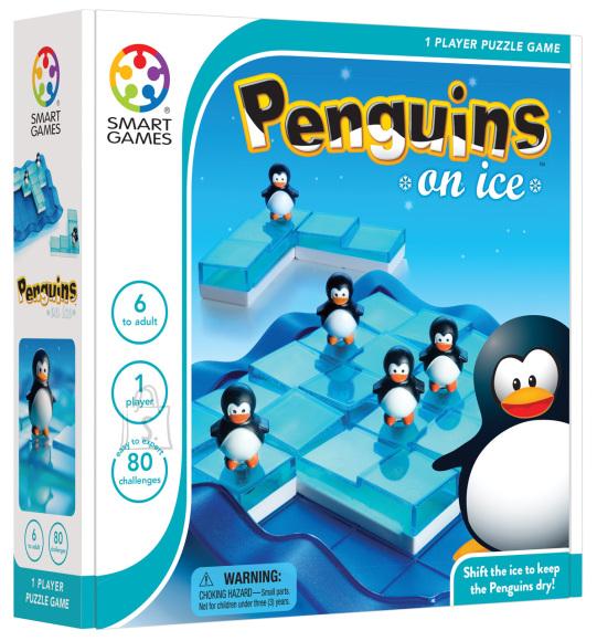 Smart Games Lauamäng Pingviinid jääl
