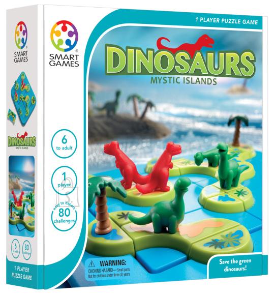 Smart Games Nuputamismäng Dinosauruste salapärane saar