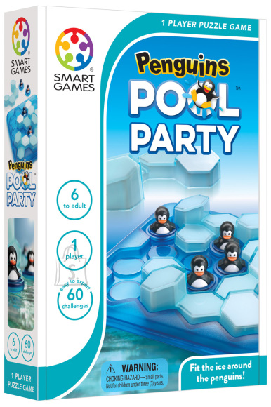 Smart Games Lauamäng Pingviinide basseinipidu