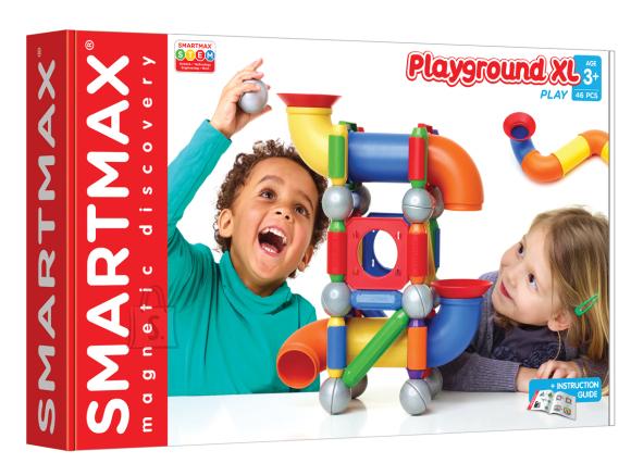 Smartmax Suured magnetid Smartmax Mänguväljak XL 46 osa