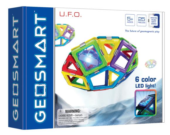 Geosmart Geosmart magnetkonstruktor U.F.O. 35 osa
