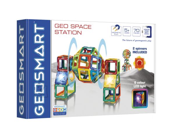 Geosmart Geosmart magnetkonstruktor Kosmosejaam 70 osa