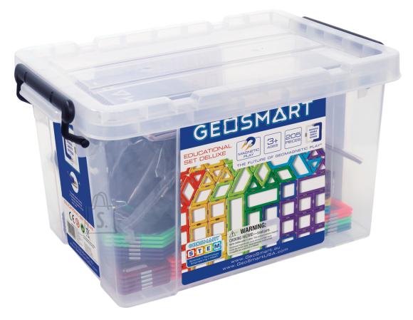 Geosmart Geosmart magnetkonstruktor Õppekomplekt DELUX 205osa