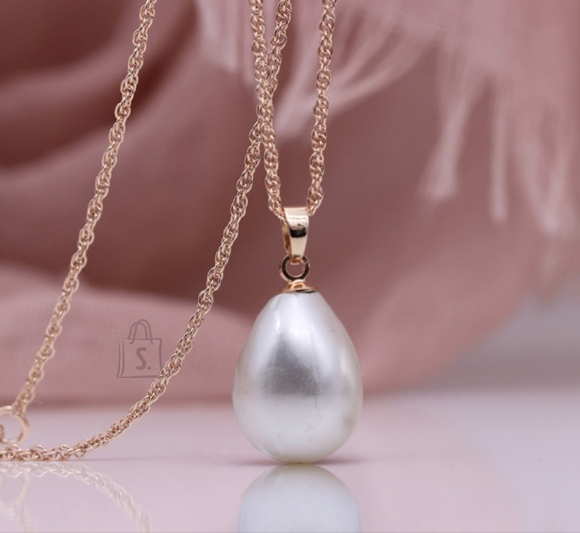 Kaelakett valge pärliga