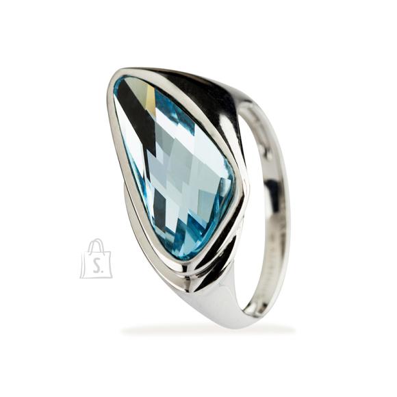 Siselly Swarovski kristalliga hõbesõrmus