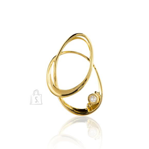 Siselly Kullaga kaetud 925 hõberipats