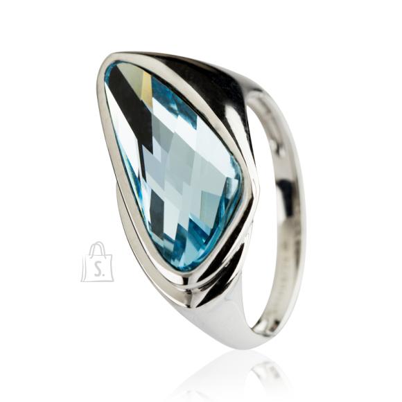 Siselly 925 hõbesõrmus Swarovski kristalliga