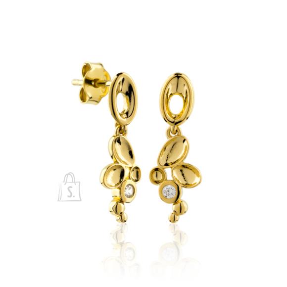 Siselly Kullaga kaetud 925 hõbekõrvarõngad