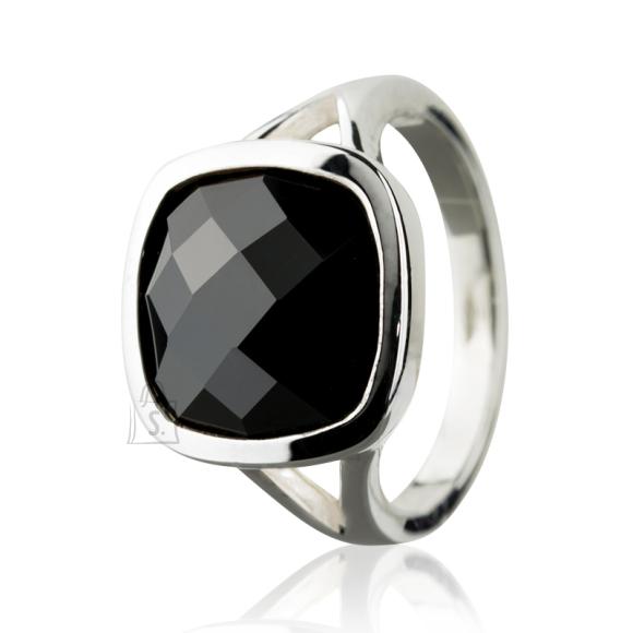 6edb8a53636 Siselly | 925 Hõbesõrmus musta kiviga | SHOPPA.ee