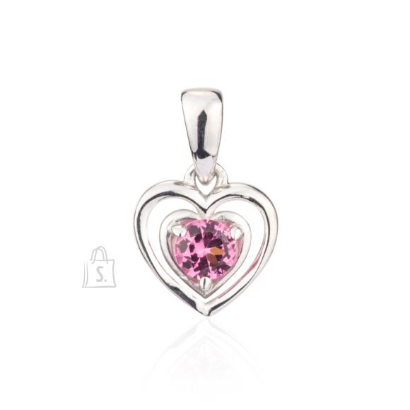 Siselly 925 Hõberipats roosa Spinell nanokristalliga