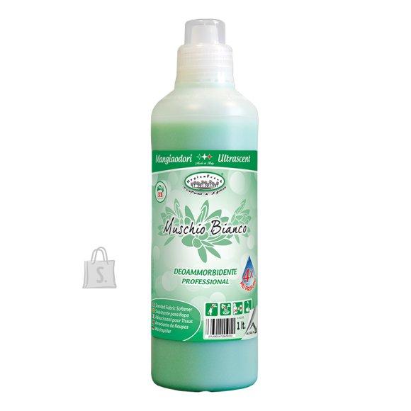 HygienFresh Pesuloputusvahend Valge Muskuse lõhnaline 1 L