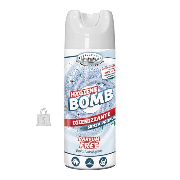HygienFresh Desinfitseeriv pihusti riietele, Bomb 400 ml.