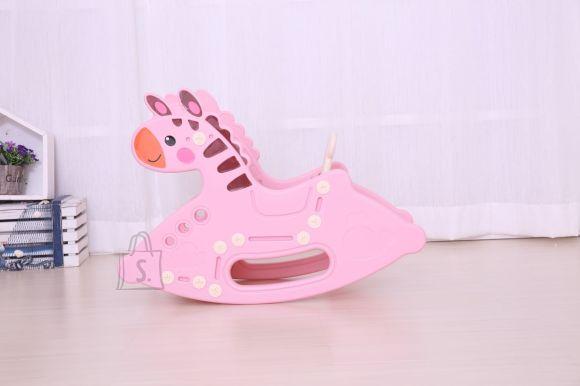 Kiikhobune Pony 2 in 1, roosa