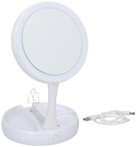 Grundig LED kosmeetikapeegel, valge