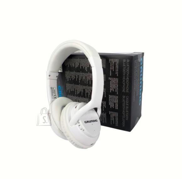 Grundig juhtmevabad bluetooth kõrvaklapid, valge