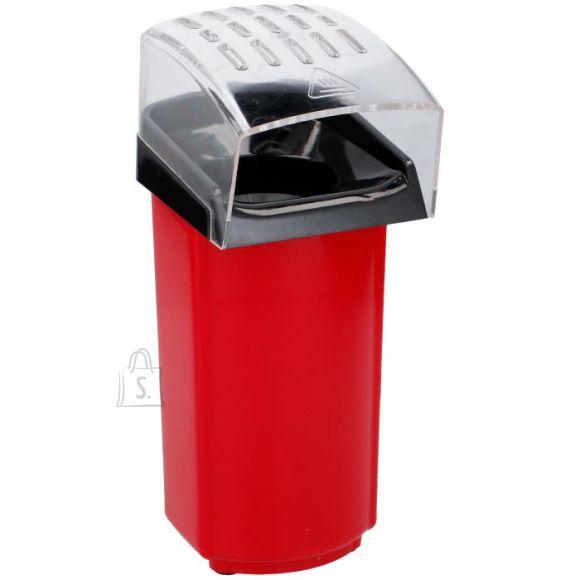 popkorni valmistaja, punane