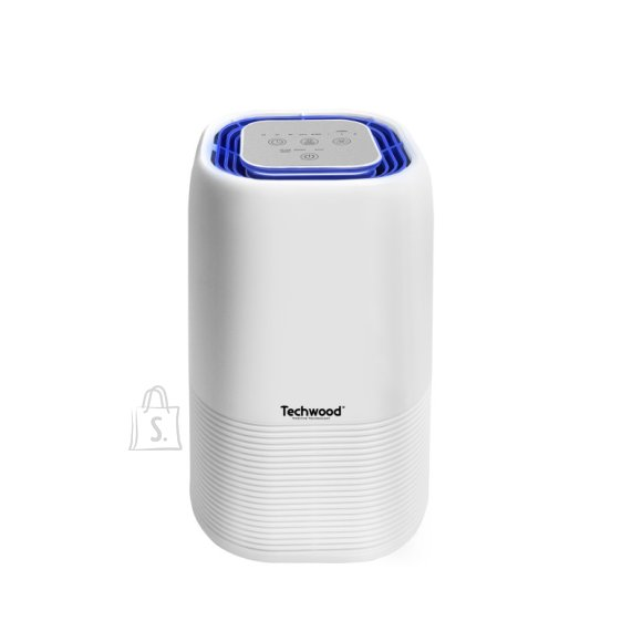 Techwood ökonoomne UV lambiga antibakteriaalne õhupuhasti, valge