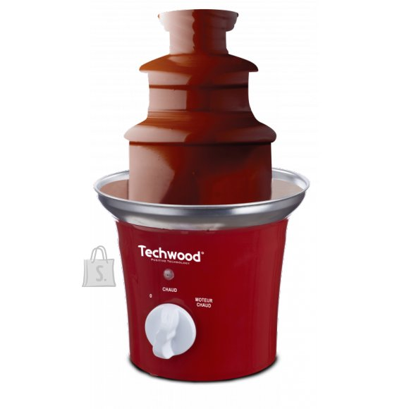 Techwood šokolaadifondüü Inox Red, 70W, punane