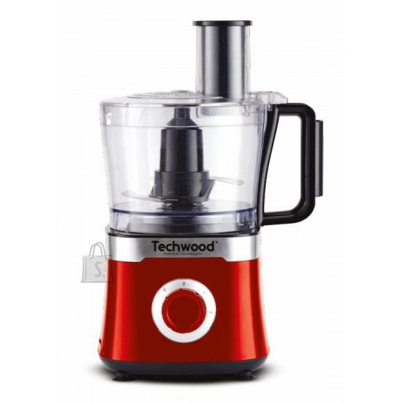 Techwood köögikombain Inox Red, 800W, punane