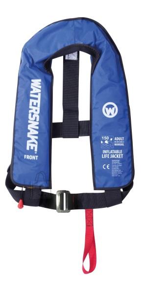 Watersnake Isetäituv manuaalne päästevest Watersnake 150N, sinine