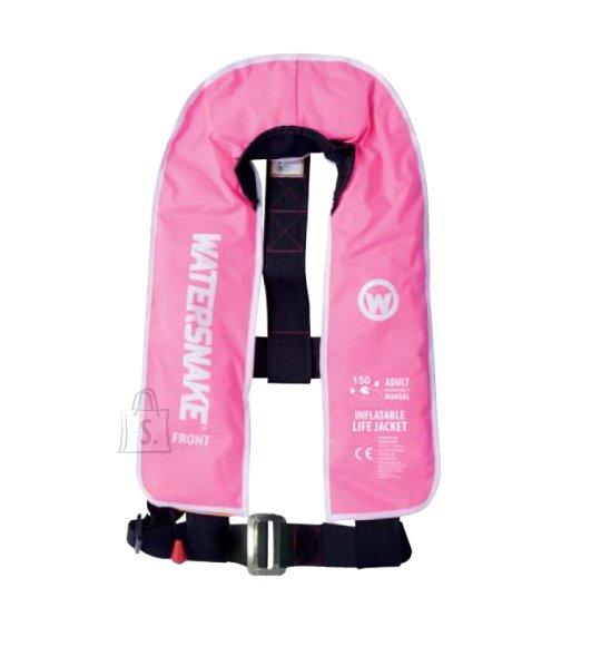 Watersnake Isetäituv manuaalne päästevest Watersnake 150N, roosa