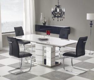 Pikendatav laud Lord valge