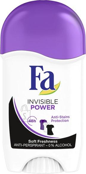Fa stick deodorant INVISIBLE POWER 50 g