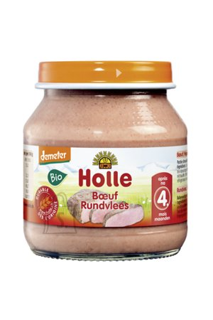 Holle loomalihapüree 125 g ÖKO