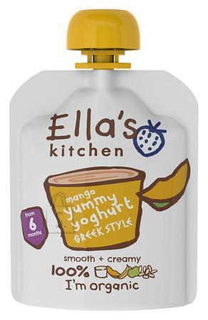 Ella's Kitchen kreeka jogurt mangoga 90 g ÖKO