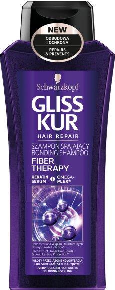Schwarzkopf Gliss Kur shampoon Fiber Theraphy 400 ml