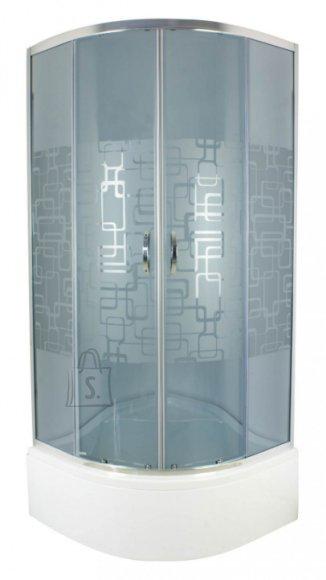 Durasan dušikabiin Parma Cubic Dark