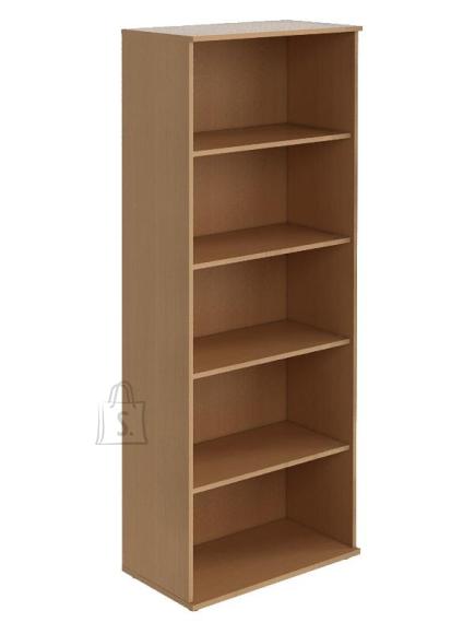 Raamaturiiul Nowy Styl Bazis, 4 riiulit, 800x1456x400mm