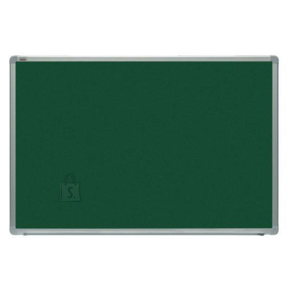 Kriiditahvel 2X3 roheline 200x100cm, magnet, al-raam, värvitud metall