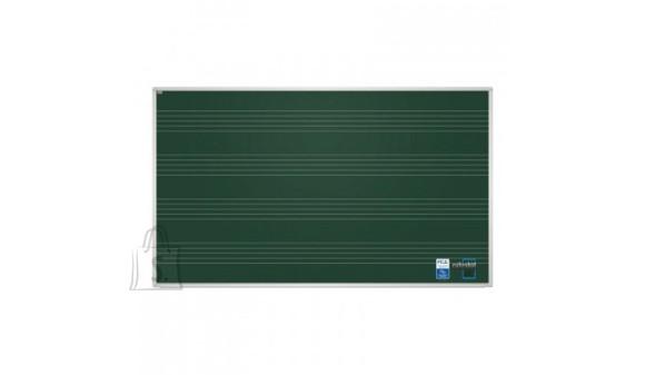 Magnetkriiditahvel 2X3 170x100cm, roheline, noodijoontega