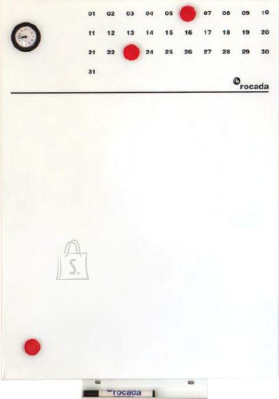 Planeerimistahvel magnetpinnaga ROCADA SKIN Clock, 55x75