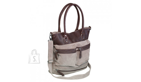 "Kandekott PIERRE SHOPPER CATCH ALL 15"", naiste, pruun nahk"