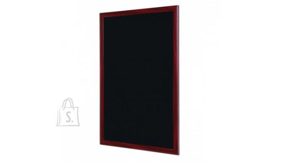 Kriiditahvel Rocada 120x90cm must, raam pähklipruun